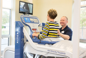 Using the AlterG Anti-Gravity Treadmill for Physical Rehabilitation