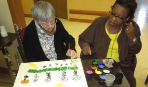 Understanding Behaviors From Alzheimer's: Language & Visual Perception