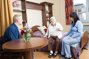Visiting a Loved one in a Nursing Home